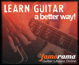 Click here to check out Jamorama - The Most Popular Guitar Learning System Ever!