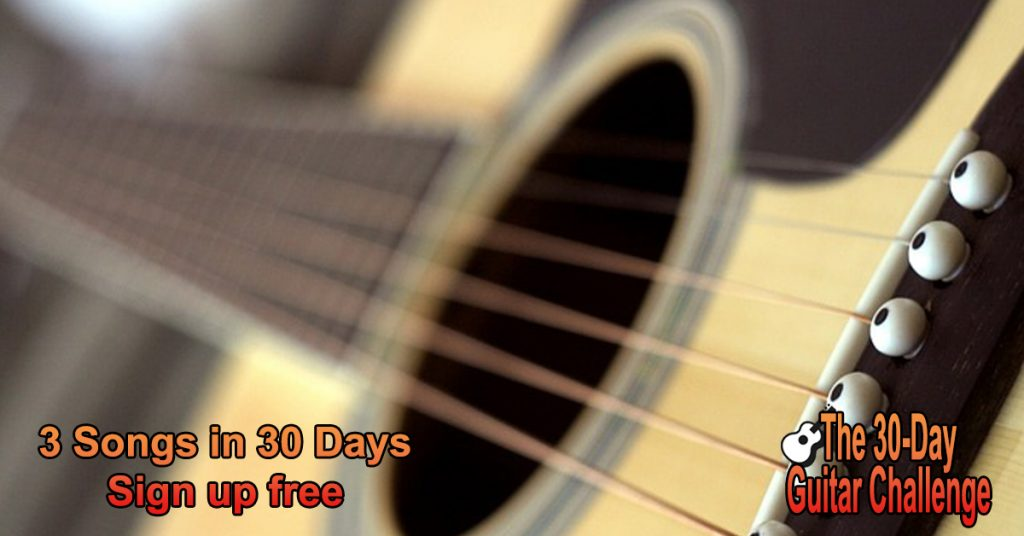 30 Day Guitar Challenge