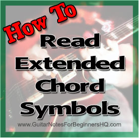 How To Read Extended Guitar Symbols