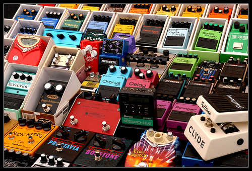 a guide to guitar effects pedals