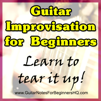 Guitar Improvisation for Beginners
