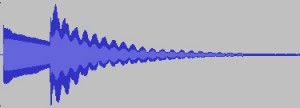 Sound Wave of Out of Tune Guitar Notes