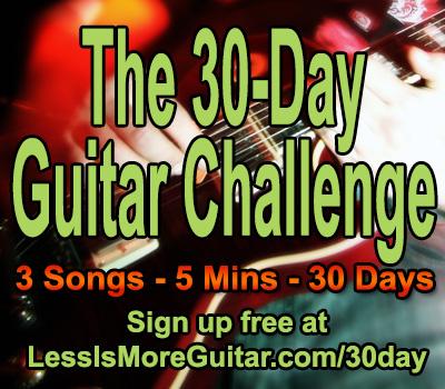 Easy Beginning Guitar Songs